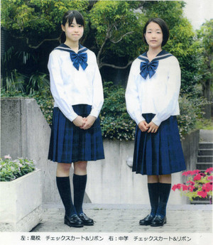 佼成学園女子高等学校制服画像
